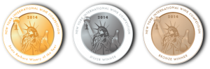 New York City International Wine Competition Medals
